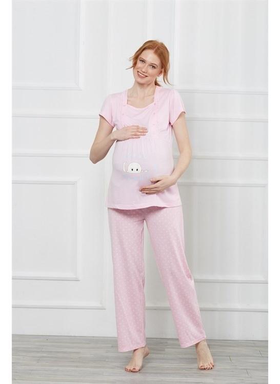 Kadın Obje Lohusa Ve Hamile Pijama Takımı